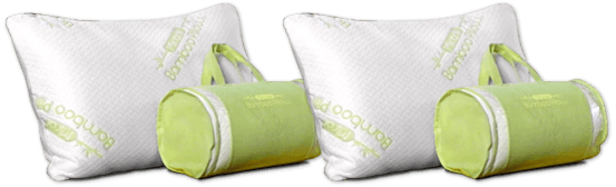 what are bamboo pillows made of